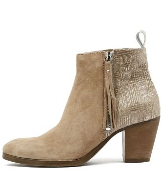Beltrami Fantasia Taupe Boots Womens Shoes Dress Ankle Boots