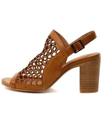 Django & Juliette Vikki Tan Sandals Womens Shoes Dress Heeled Sandals