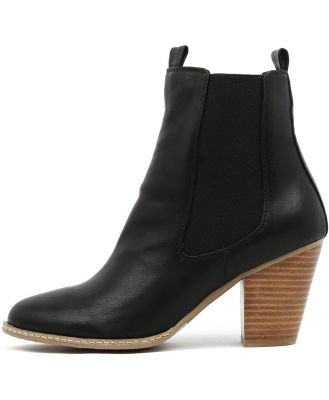I Love Billy Cappy Black Boots Womens Shoes Casual Ankle Boots