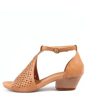 I Love Billy Codex Tan Sandals Womens Shoes Casual Heeled Sandals