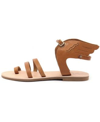 I Love Billy Kailey Tan Sandals Womens Shoes Casual Sandals Flat Sandals