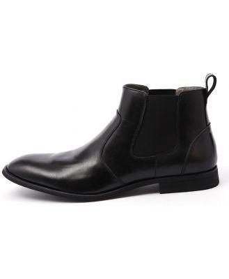 Julius Marlow Harry Black Boots Mens Shoes Dress Ankle Boots