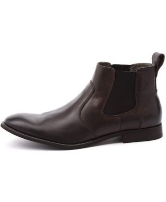 Julius Marlow Harry Brown Boots Mens Shoes Dress Ankle Boots