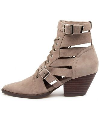 Mollini Fayt Mo Taupe Boots Womens Shoes Casual Ankle Boots