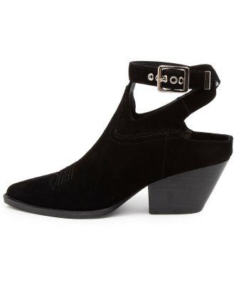Mollini Feever Mo Black Shoes Womens Shoes Casual Heeled Shoes