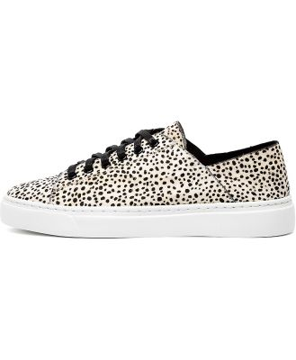 Mollini Osky Black & White Sneakers Womens Shoes Casual Casual Sneakers