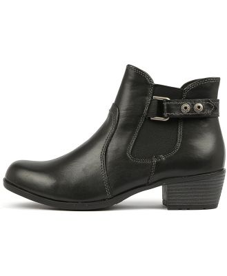 Planet Town 2 Black Boots Womens Shoes Comfort Ankle Boots