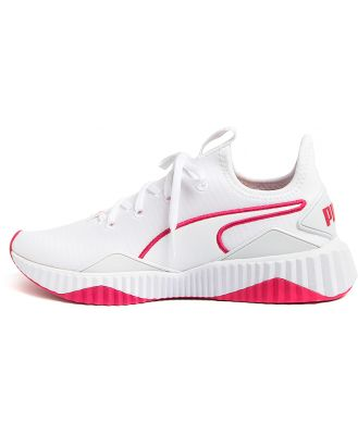 Puma 193059 Defy New Core Wns Pm White Rose Sneakers Womens Shoes Active Active Sneakers