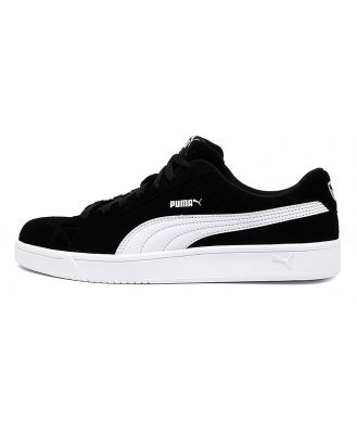 Puma 367366 Court Breakr Derby M Pm White Black Sneakers Mens Shoes Casual Casual Sneakers