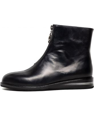 Silent D Yareli Black Boots Womens Shoes Casual Ankle Boots