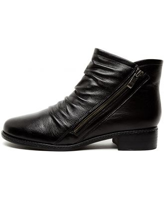 Supersoft Pyramid Su Black E Boots Womens Shoes Casual Ankle Boots