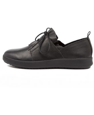 Supersoft Zafra Su Black Black Sole Shoes Womens Shoes Casual Flat Shoes