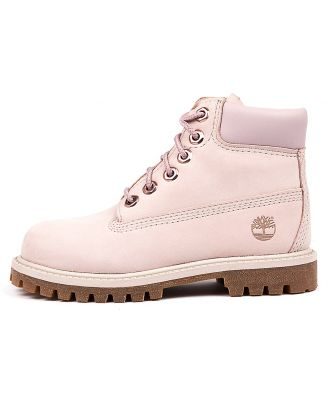 Timberland 6 Premium Icon Boot Tot Light Pink Boots Boys Shoes Casual Ankle Boots