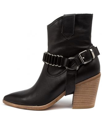 Top End Marysville To Black Natural Heel Boots Womens Shoes Casual Ankle Boots