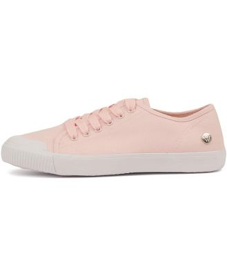 Walnut Empire Canvas Pink Sneakers Womens Shoes Comfort Casual Sneakers