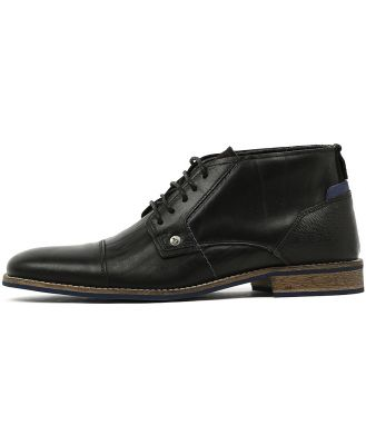 Wild Rhino Digby Black Boots Mens Shoes Casual Ankle Boots