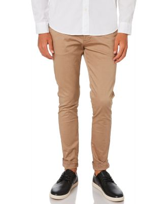Academy Brand The Cooper Mens Chino Pant Coffee Coffee