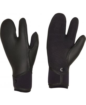 Adelio Deluxe 5Mm Crab Claw Wetsuit Gloves Black