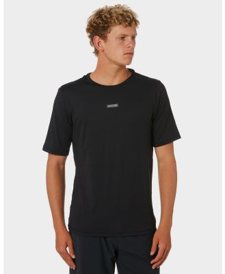 Adelio Loose Fit Rash Tee Black