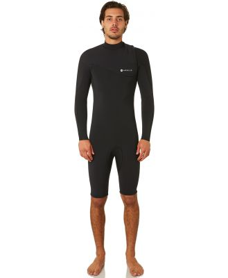 Adelio Taylor Zipperless 2Mm Gbs Ls Springsuit Black
