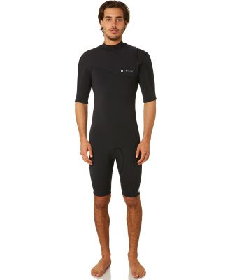 Adelio Taylor Zipperless 2Mm Gbs Ss Springsuit Black