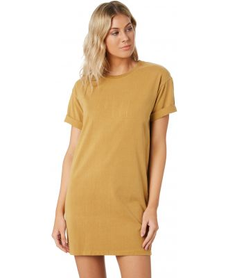 All About Eve Taped Jersey Dress Gold Gold