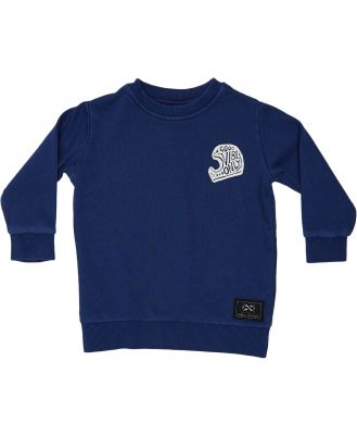 Alphabet Soup Boys Legacy Crew - Kids Navy Navy