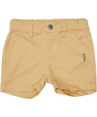 Alphabet Soup Boys Stranded Chino Short - Kids Light Tan Light Tan