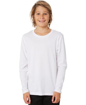 As Colour Youth Ls Tee - Teens White