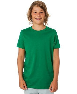 As Colour Youth Tee - Teens Kelly Green