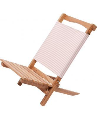 Business And Pleasure Co The 2 Piece Chair Pink Stripe