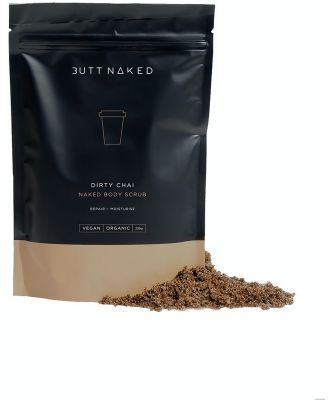 Butt Naked Body Dirty Chai Coffee Scrub Natural Natural