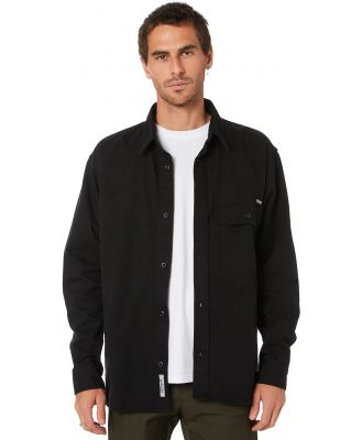 Carhartt Reno Mens Ls Shirt Black