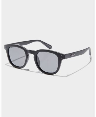 Carve Havana Polarized Sunglasses Matte Black