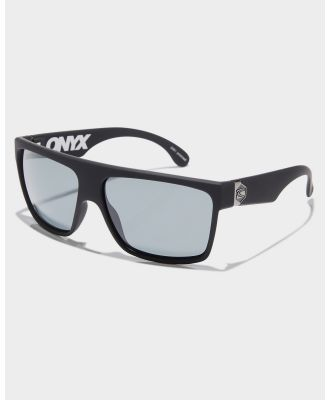 Carve Onyx Polarized Sunglasses Matte Black