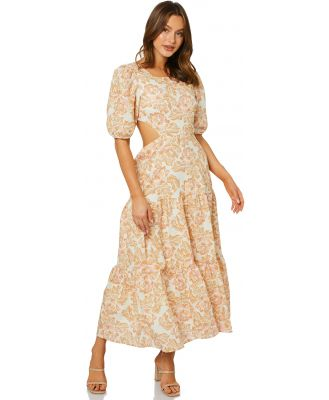 Charlie Holiday Flores Midi Dress Sweet Floral