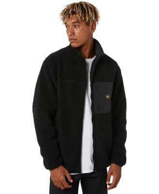 Depactus Kodiak Zip Thru Sherpa Crew Black