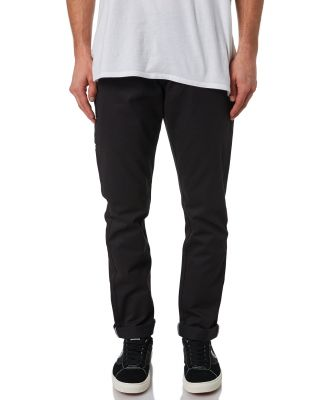Dickies Straight Fit Black Cotton Flex Fabric Mens Chino Pants