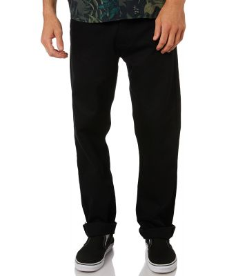 Dr Denim Dash Mens Chino Pant Black