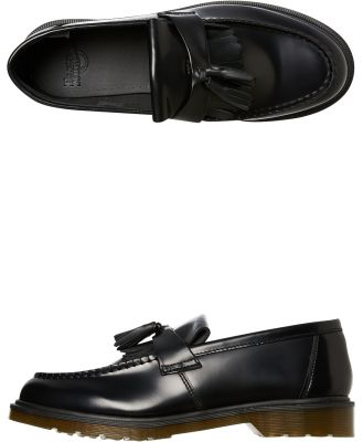 Dr. Martens Mens Adrian Tassel Loafer Black