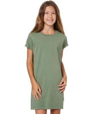 Eves Sister Girls Jersey Tee Dress - Teen Khaki Khaki
