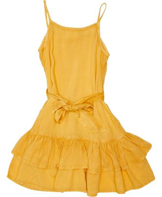 Eves Sister Girls Supple Wash Dress - Kids Honey Gold Honey Gold