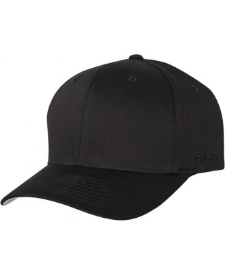 Flex Fit Worn By The World 2 Fitted Cap Black