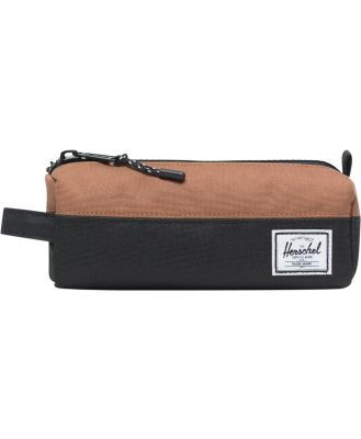 Herschel Supply Co Kids Settlement Case Black Sadlle Brown