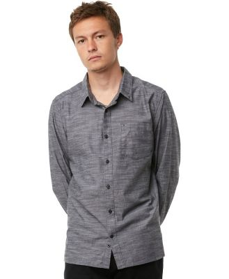 Hurley One And Only 2 0 Ls Mens Shirt Black