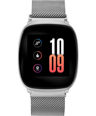 Iconnect By Timex Iconnect Premium Active Smart Watch Silver Mesh Silver