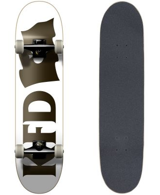 Kfd Skateboards Complete Young Gunz Flagship White 7.825 White
