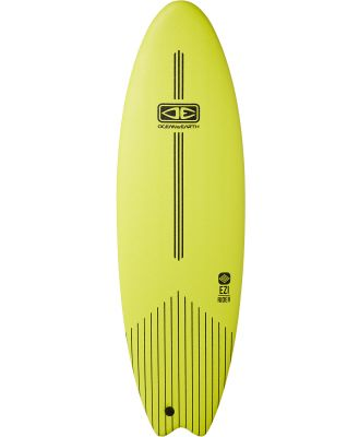 Ocean And Earth 6Ft Ezi Rider Softboard Lime Lime