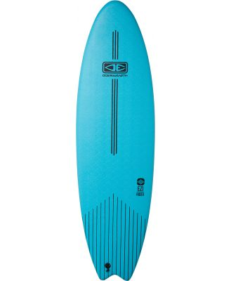 Ocean And Earth 6Ft6 Ezi Rider Softboard Turquoise Turquoise