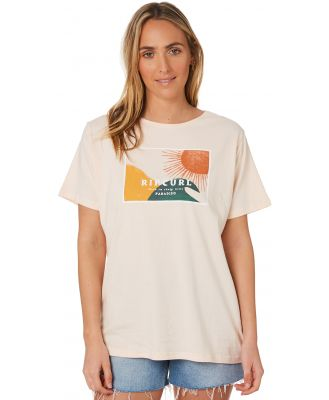 Rip Curl Sunset Cove Tee Light Pink